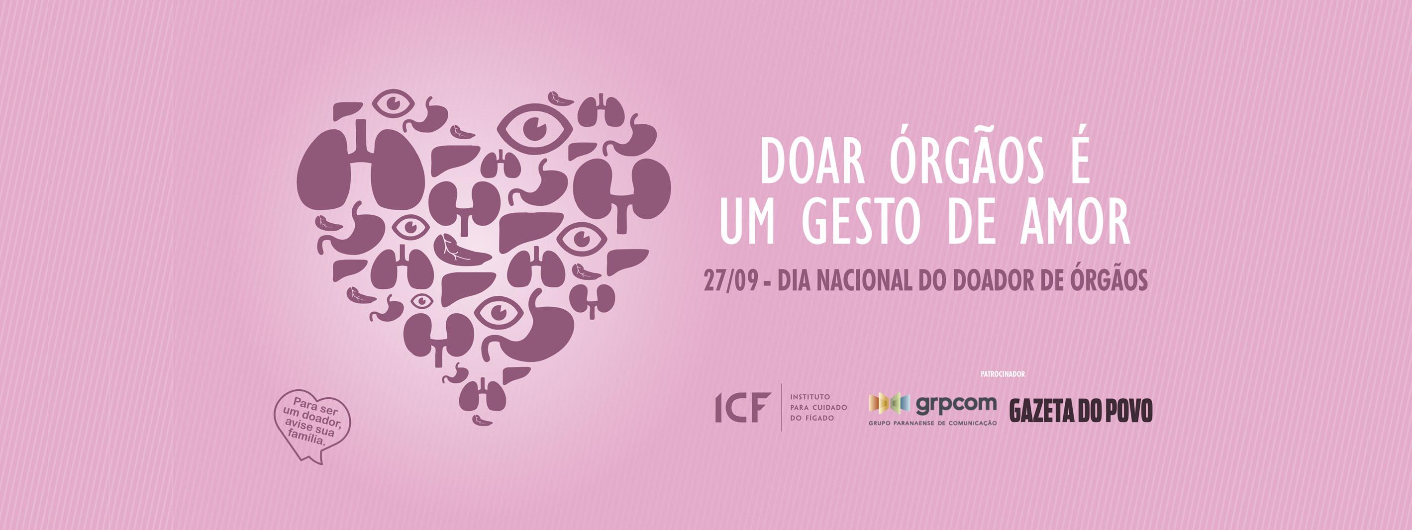 27/09 Dia Nacional do Doador de Órgãos